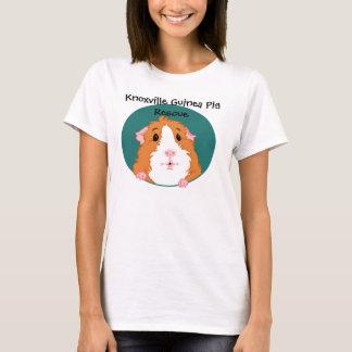 Camiseta curiosa del conejillo de Indias