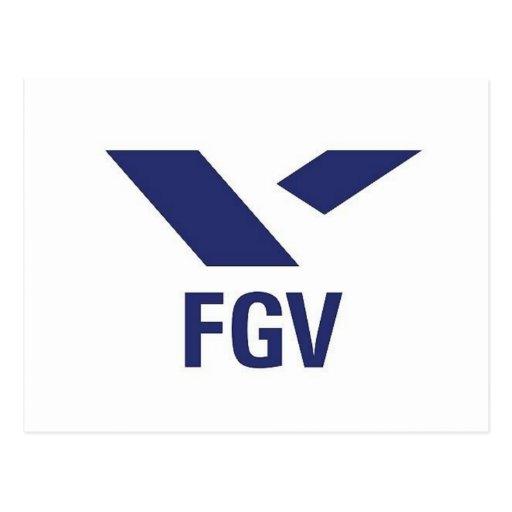 Camiseta da FGV Cartoes Postais