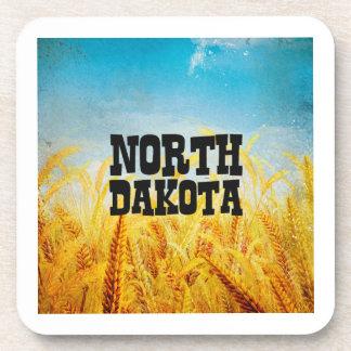 CAMISETA Dakota del Norte Posavasos De Bebidas