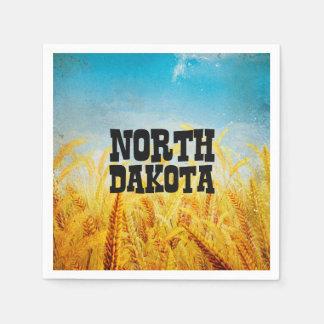 CAMISETA Dakota del Norte Servilletas Desechables