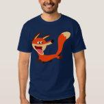 Camiseta dañosa linda del Fox del dibujo animado Remera