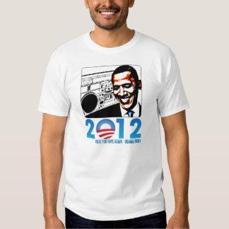 Camiseta de 2012 elecciones presidenciales de los poleras