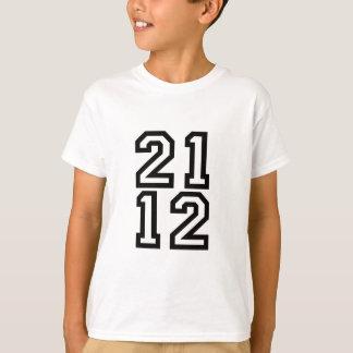 camiseta de 2112 años playeras