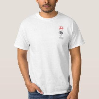 Camiseta de 3 tigres de Shotokan Camisas
