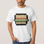 camiseta de 8 bits del arte del pixel de la polera