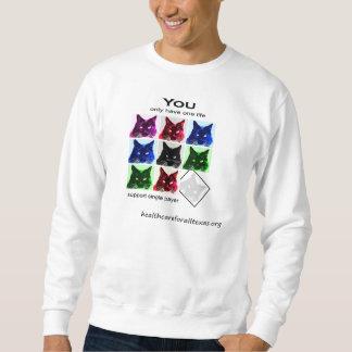 camiseta de 9 vidas sudadera