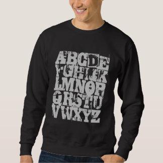 Camiseta de ABC - el alfabeto Sudaderas Encapuchadas