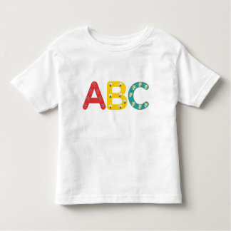 Camiseta de ABC por PaddleDuck Playera