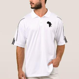 Camiseta de África de los hombres Polo