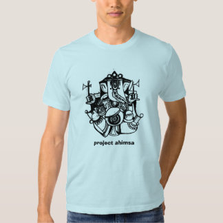 Camiseta de Ahimsa del proyecto Playera