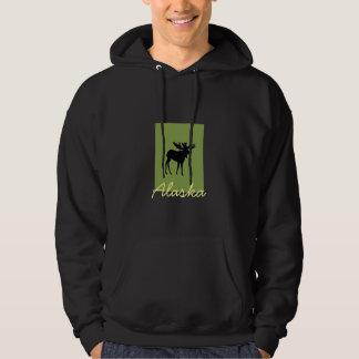Camiseta de Alaska Pulóver Con Capucha