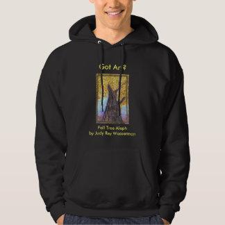 Camiseta de Aleph del árbol de la caída