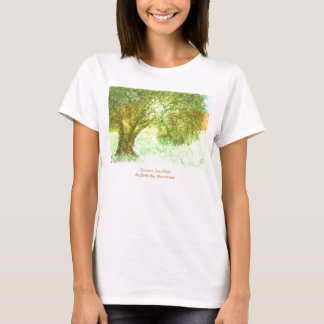Camiseta de Aleph del árbol del verano