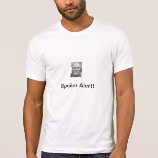 Camiseta de Alerrt del alerón Playeras