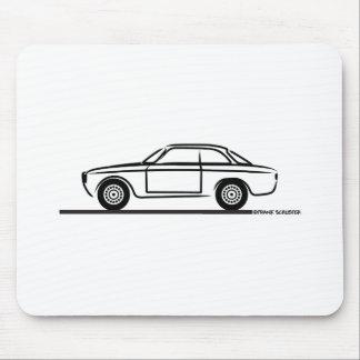 Camiseta de Alfa Romeo GTA GTV Alfombrillas De Raton