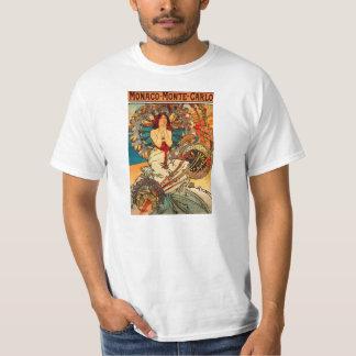Camiseta de Alfonso Mucha Mónaco Monte Carlo Camisas