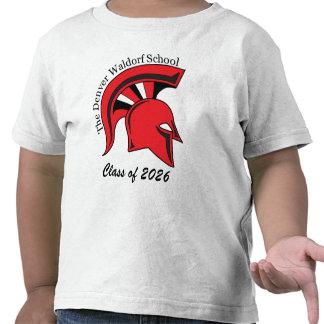 Camiseta de algodón básica del niño
