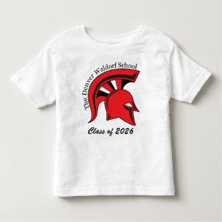 Camiseta de algodón básica del niño playera