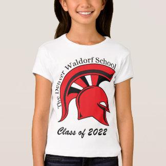 Camiseta de algodón de la muñeca de los chicas