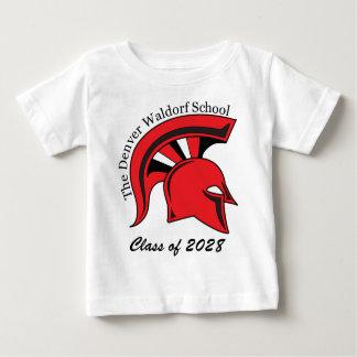 Camiseta de algodón infantil poleras
