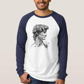 Camiseta de algodón larga de la manga camisas