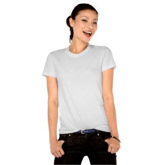 Camiseta de algodón orgánica de la universidad del