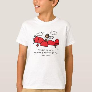 Camiseta de Amelia Earhart Remeras