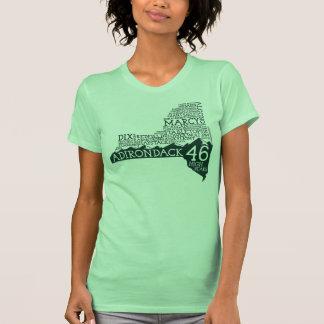 Camiseta de American Apparel de las mujeres ADK46 Remera