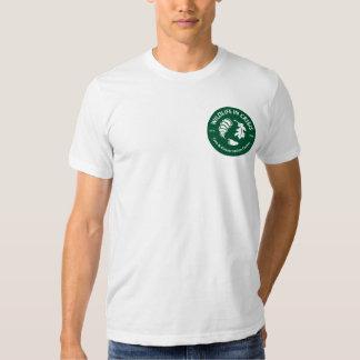 Camiseta de American Apparel de los hombres Polera