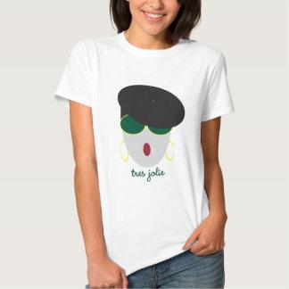 "Camiseta de AnabelNY ""Tres"" Poleras"