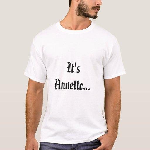 Camiseta de Annette Wallace