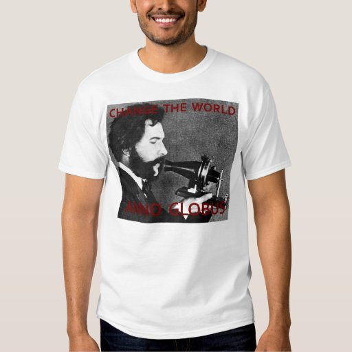 Camiseta de Anno Globus - de Alexander Graham Bell Polera