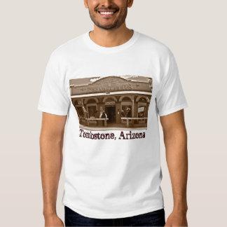 Camiseta de Arizona de la piedra sepulcral Playeras