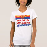 Camiseta de Arizona Demócrata liberal