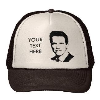 Camiseta de Arnold Schwarzenegger Gorro