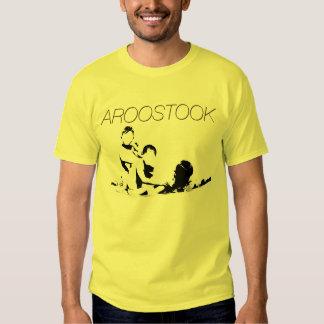 Camiseta de Aroostook - niños en la piscina Playeras