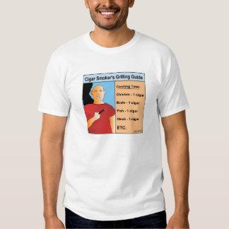 Camiseta de asado a la parilla del dibujo animado camisas