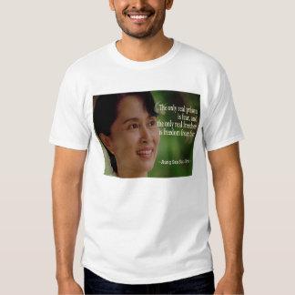 Camiseta de Aung San Suu Kyi Playeras