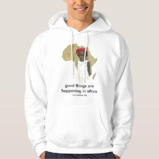 Camiseta de ayuda de los chicas suéter con capucha