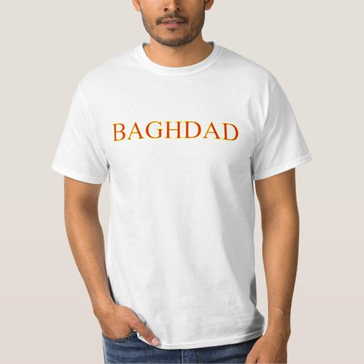 Camiseta de Bagdad Polera