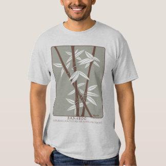 Camiseta de bambú sostenible de la impresión remeras