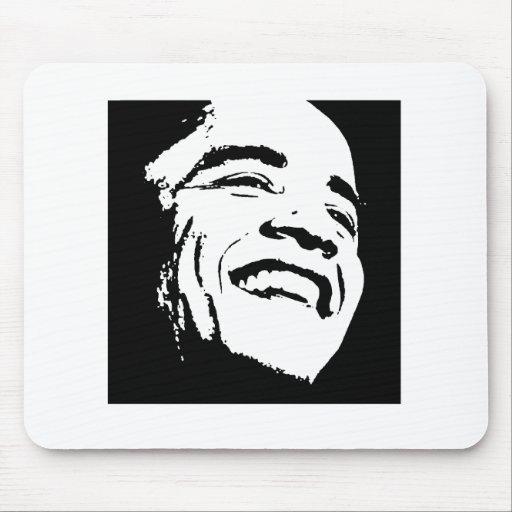 Camiseta de Barack Obama Tapete De Ratones