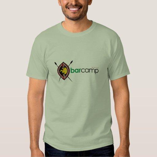 Camiseta de Barcamp África Playeras