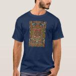 Camiseta de Bardo Thangka del tibetano de la tela