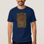 Camiseta de Bardo Thangka del tibetano de la tela Remeras