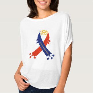 Camiseta de Bella de la cinta de la ayuda de la