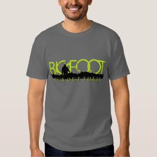 Camiseta de Bigfoot de los hombres Remera