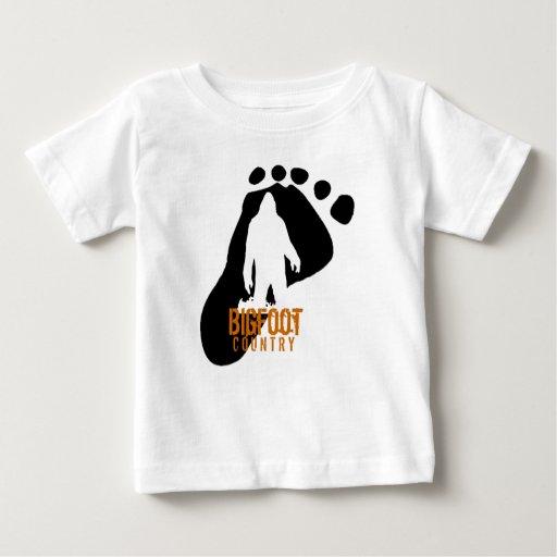 Camiseta de Bigfoot de los niños
