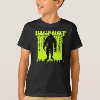 Camiseta de Bigfoot de los niños Remera