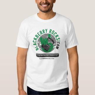 camiseta de BlackBerryRocks.com (luz) Polera